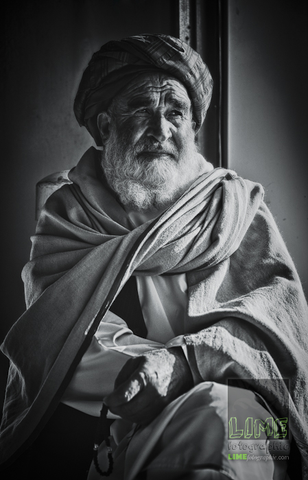 An Afghan elder and the pace of life